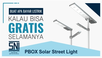 PBOX Solar Street Light - PT. Wedosolar Indonesia