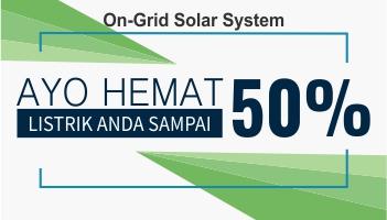 hemat listrik 50% - PT. Wedosolar Indonesia